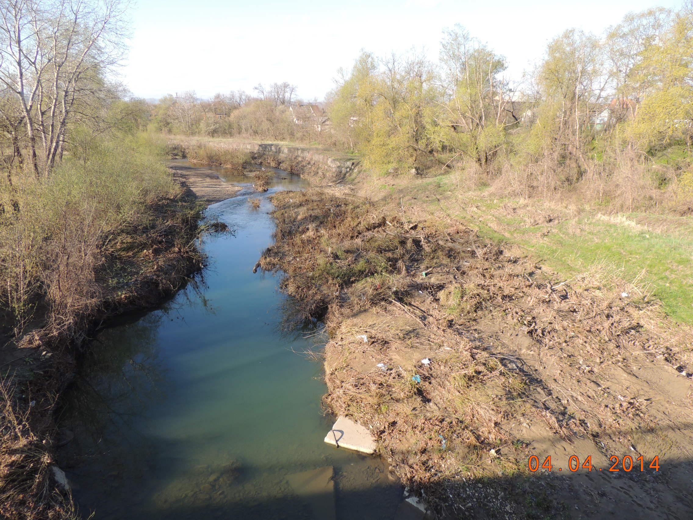 Проведение мониторинга рек нечепсухо